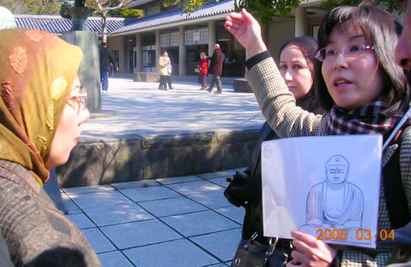 桶谷さん 鎌倉でのガイド